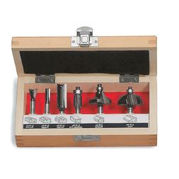 Craftsman 6-PC Router Bit Set. Brand New !