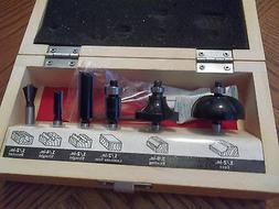 CRAFTSMAN  6 PC WOOD  ROUTER BIT SET~APPEARS NEW