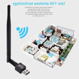 600M USB 2.0 Wifi Router Wireless Adapter Network LAN Card w