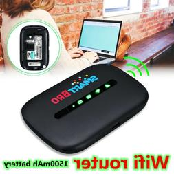 600Mbps LTE Portable Wifi Router Mobile Wireless Broadband H