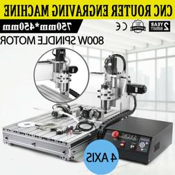 6040Z ENGRAVING MACHINE 4 AXIS ENGRAVER USB CNC ROUTER WOODW