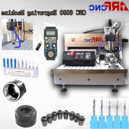 ARFCNC 6090 2200W CNC Router Engravering Machine For Wood Ac