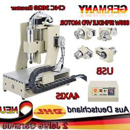 New 3020T CNC ROUTER 4AXIS ENGRAVER ENGRAVING MACHINE 3D CUT