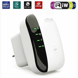 300Mbps 802.11 Wireless-N Wifi Repeater AP Router Signal Boo