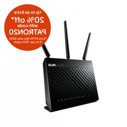 ASUS 802.11ac Dual-Band Wireless-AC1900 Gigabit Router,2x US