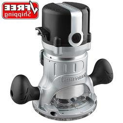 Craftsman 9.5 AMP 1-3/4 HP Fixed Base Router Adjustable 2500