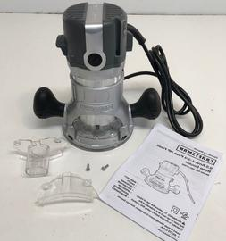 Craftsman 9.5 AMP 1-3/4 HP Fixed Base Router Adjustable 2700