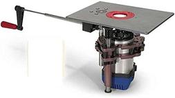 MLCS 9562 U-Turn 2 Router Lift for 3-1/4 HP Routers