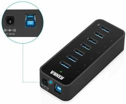 Anker USB 3.0 7-Port Hub with 1 BC 1.2 Charging Port up to 5