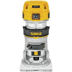 DEWALT DWP611 1-1/4 HP Variable Speed Premium Compact Router