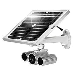 Funxwe 1080P Full-HD Solar Power WiFi IP Camera P2P Wireless