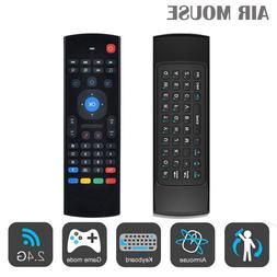MX3 2.4 GHZ Wireless Air Mouse Keyboard for all Android Boxe