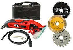 Official ROTORAZER Compact Circular Saw Set DIY Projects -Cu