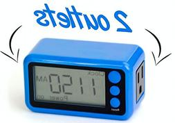 Tech Restarter Digital Outlet Timer - Keep Your Devices Runn