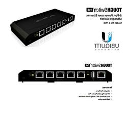 Ubiquiti TOUGHSwitch PoE - Switch - 5 Ports - Managed - Desk