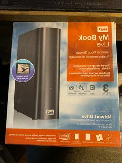 WD My Book Live 3TB Personal Cloud Storage NAS Share Files a