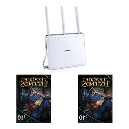 TP-LINK AC1900 Dual Band Wireless AC Gigabit Router and Leag
