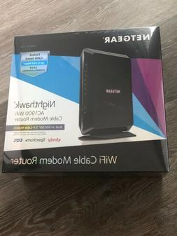 Netgear AC1900 Nighthawk Dual-Band Cable Modem Router  NEW