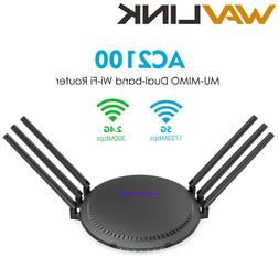 Wavlink AC2100 Wireless Gigabit Dual-Band Wi-Fi <font><b>Rou