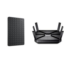 TP-Link AC3200 Tri-Band Wireless Gigabit Wi-Fi Router and Se