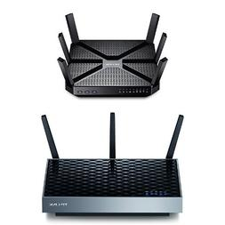 AC3200 Tri-Band Wireless Gigabit Wi-Fi Router and AC1900 Wi-
