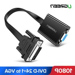 Ugreen Active Dual Link DVI D 24+1 to VGA Adapter Cable 1080