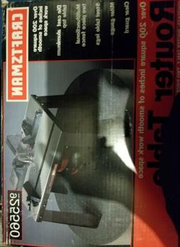 Craftsman Aluminum Router Table 926460 MADE IN USA Factory S