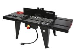 ALUMINUM WORK BENCH TOP DELUXE ROUTER TABLE STATIONARY POWER