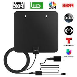 LeadTry ANT-Pro Indoor HD TV Antenna 1080P, 50+ Mile Recepti