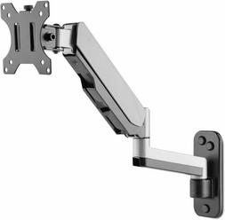 AVLT-Power Aluminum Single Gas Spring Monitor Wall Mount wit