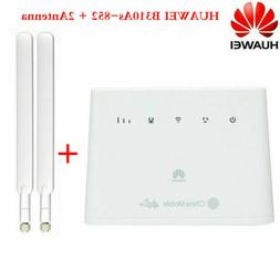 HUAWEI B310As-852 4G Hotspot 150Mbps LTE CPE Router modem Ex