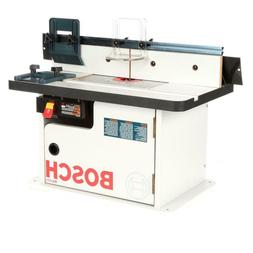 Benchtop Laminated MDF Top Cabinet Style Router Table Across
