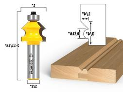 "Bevel & Bead Wainscoting Router Bit - 1/2"" Shank - Yonico 13"