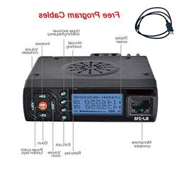HESENATE BJ-218 Mini Car Radio 25W Tri-Power Dual Band Mobil