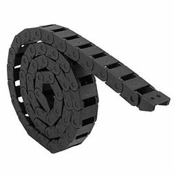 Black Plastic Drag Chain Cable Carrier 10 x 15mm for CNC Rou