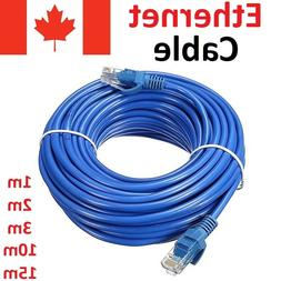 Blue CAT 5 E Ethernet LAN Network Cable for Computer Router