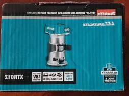 BRAND NEW MAKITA 18V LXT XTR01Z BRUSHLESS CORDLESS ROUTER