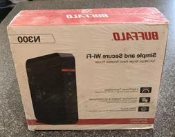 Buffalo AirStation N300 High Power Wireless Wi-Fi Router WHR