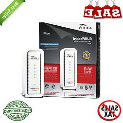 cable modem n300 wifi router retail packaging