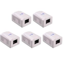 Cable Matters  Cat6 RJ45 Surface Mount Box - 1 Port in Whit
