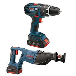 Bosch CLPK273-181 18-Volt Lithium-Ion 2-Tool Combo Kit with