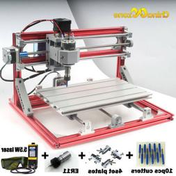 CNC 3018 Engraving Router&5.5W Laser Module Carving Milling