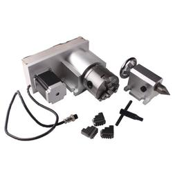 Sunwin CNC F Style A-Axis, 4th-Axis, Router Rotational Rotar