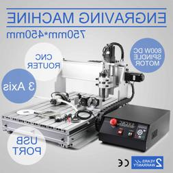 VEVOR CNC ROUTER ENGRAVER MACHINE ENGRAVING DRILLING 3 AXIS