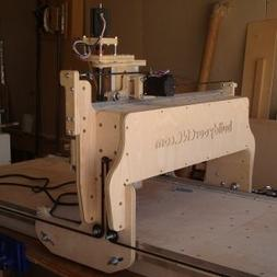 CNC Routing Machine Kit - Routing Area: 2 foot X 4 foot - Ve