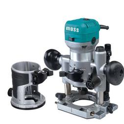 Moss Compact Deluxe Palm Router Plunge +Trimmer 710W Saw 1/4