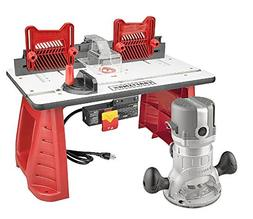 Craftsman 9.5 Amp Router Table Combo 1-3/4 HP Power Shaper M