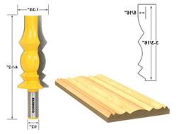 "3-3/16"" Reversible Crown Molding Router Bit - 1/2"" Shank - Y"