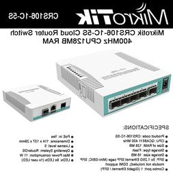 Mikrotik CRS106-1C-5S Cloud Router Switch 5xSFP 1xCombo Port