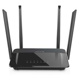 D-Link AC1200 Wireless WiFi Router – Smart Dual Band Gigab
